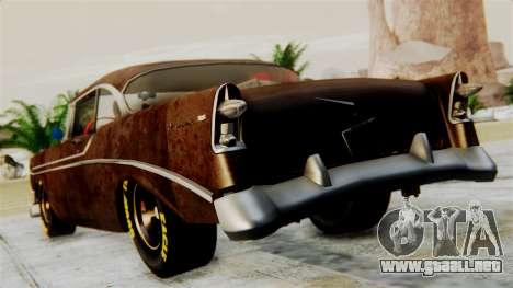 Chevrolet Bel Air 1956 Rat Rod Street para GTA San Andreas left