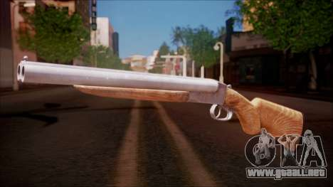 DobleGun from Battlefield Hardline para GTA San Andreas