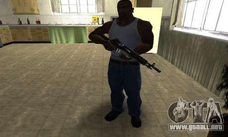 Modern Black Rifle para GTA San Andreas tercera pantalla