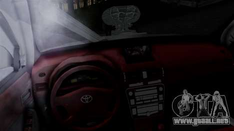 Toyota Hilux 2015 para GTA San Andreas vista posterior izquierda