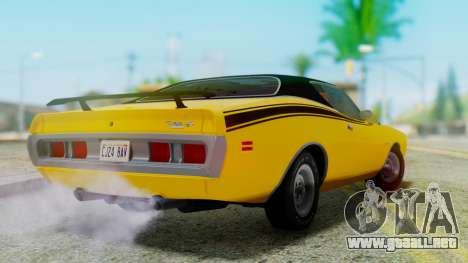 Dodge Charger Super Bee 426 Hemi (WS23) 1971 para GTA San Andreas left