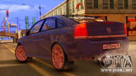 Opel Vectra para GTA San Andreas left