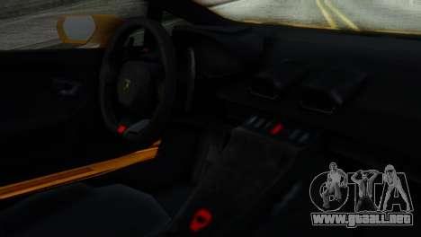 Lamborghini Huracan 2015 Horizon Wheels para la visión correcta GTA San Andreas