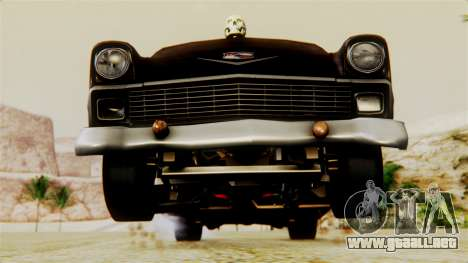Chevrolet Bel Air 1956 Rat Rod Street para el motor de GTA San Andreas