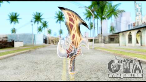 God Of War Blade of Exile para GTA San Andreas segunda pantalla