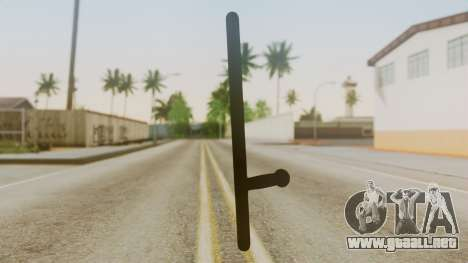 Police Baton from Silent Hill Downpour v1 para GTA San Andreas segunda pantalla
