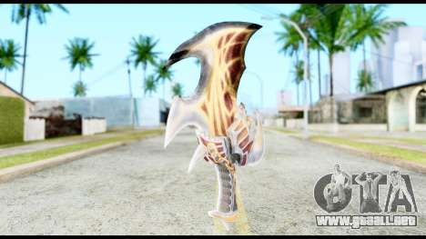 God Of War Blade of Exile para GTA San Andreas