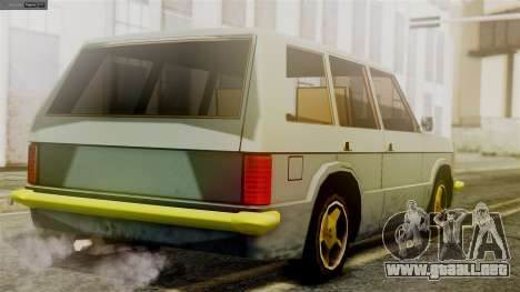 Huntley New Edition para GTA San Andreas left