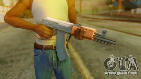 AKS-74U para GTA San Andreas tercera pantalla