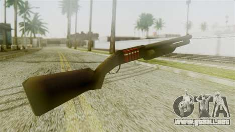 New Chromegun para GTA San Andreas segunda pantalla