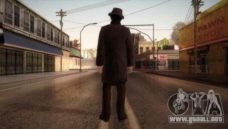 Sherlock Holmes v1 para GTA San Andreas tercera pantalla