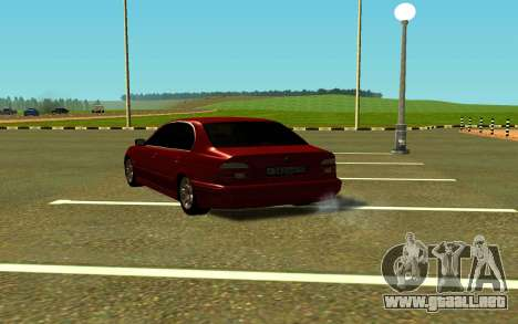 BMW 540i E39 para GTA San Andreas left