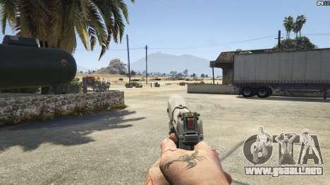 GTA 5 Halo UNSC: Magnum noveno captura de pantalla