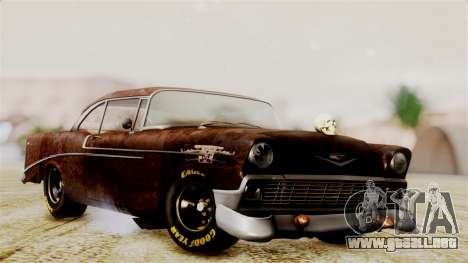 Chevrolet Bel Air 1956 Rat Rod Street para GTA San Andreas