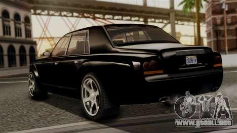 GTA 5 Enus Super Diamond para GTA San Andreas left