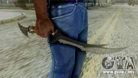 Deadric Dagger para GTA San Andreas tercera pantalla