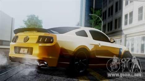 Ford Mustang Boss 302 2013 para GTA San Andreas left