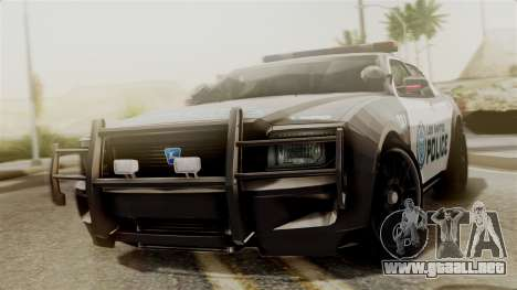 Hunter Citizen from Burnout Paradise Police LS para GTA San Andreas