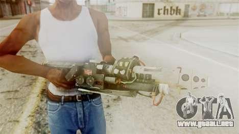Ghostbuster Proton Gun para GTA San Andreas tercera pantalla