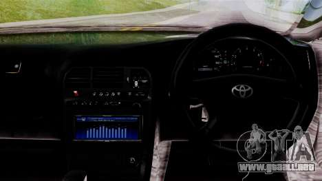 Toyota Mark 90 para la visión correcta GTA San Andreas
