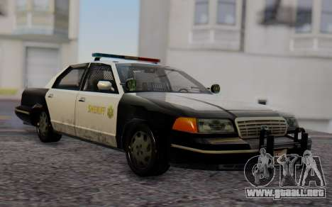 Ford Crown Victoria Sheriff para GTA San Andreas
