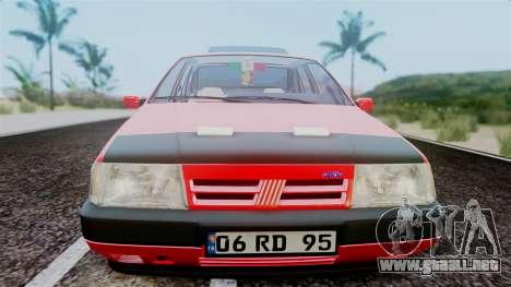 Fiat Tempra para GTA San Andreas vista hacia atrás