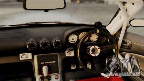 Nissan Silvia S15 24AUTORU para la visión correcta GTA San Andreas