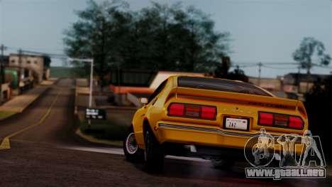 Ford Mustang King Cobra 1978 para el motor de GTA San Andreas