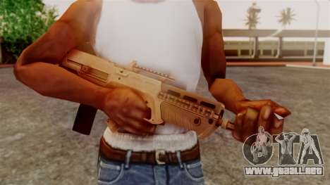GTA 5 Advanced Rifle para GTA San Andreas tercera pantalla