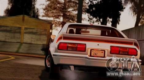 Ford Mustang King Cobra 1978 para GTA San Andreas left