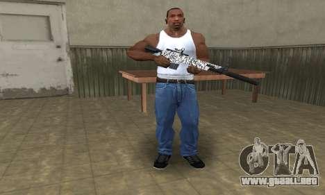Black Lines Rifle para GTA San Andreas tercera pantalla
