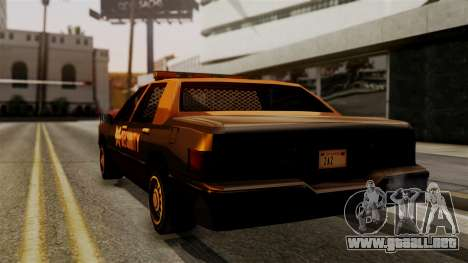 Elegant Nuclear Security para GTA San Andreas left