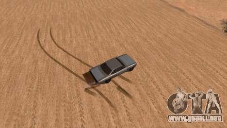 Offroad Effect para GTA San Andreas tercera pantalla