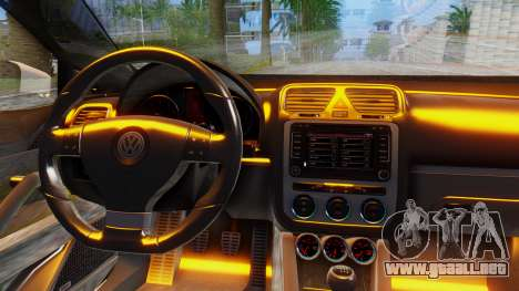Volkswagen Scirocco para GTA San Andreas vista posterior izquierda