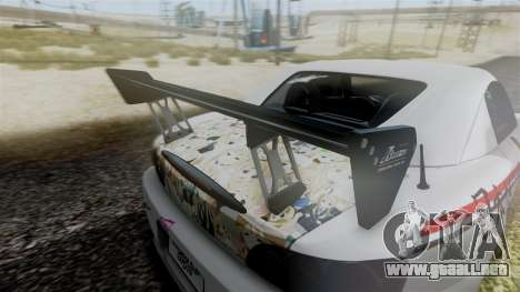 Honda S2000 Tuned Mugi Itasha para la visión correcta GTA San Andreas