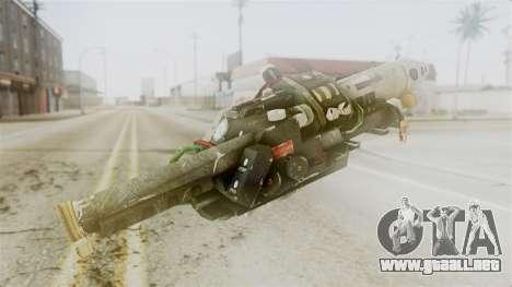 Ghostbuster Proton Gun para GTA San Andreas segunda pantalla