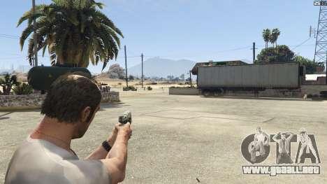 GTA 5 Halo UNSC: Magnum quinta captura de pantalla