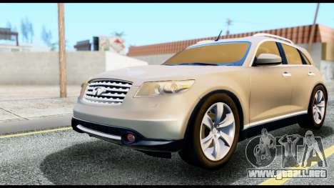 Infiniti FX45 para GTA San Andreas