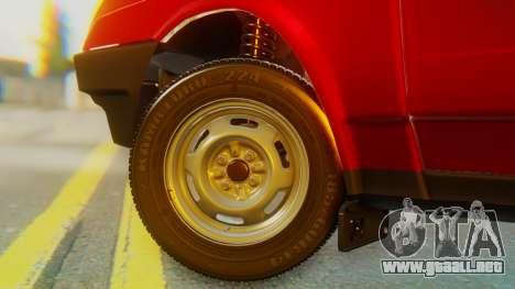 2109 Stoke para GTA San Andreas vista posterior izquierda
