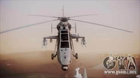 Harbin WZ-19 para la visión correcta GTA San Andreas