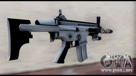 MK16 PDW Advanced Quality v2 para GTA San Andreas segunda pantalla