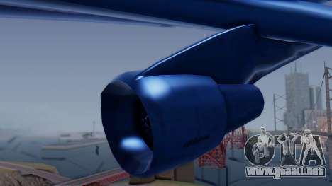AT-400 Argentina Airlines para la visión correcta GTA San Andreas