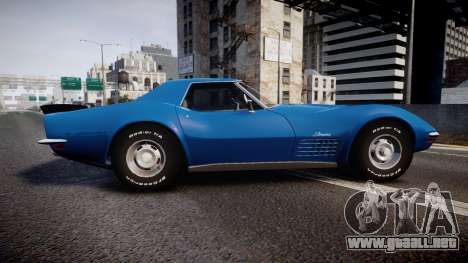 Chevrolet Corvette ZR1 1970 [EPM] para GTA 4 left