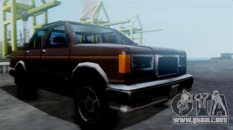 Landstalker Pickup para GTA San Andreas