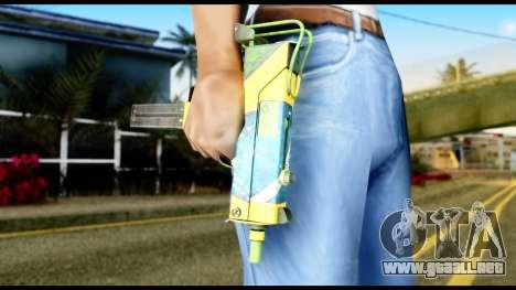 Brasileiro Micro Uzi para GTA San Andreas tercera pantalla