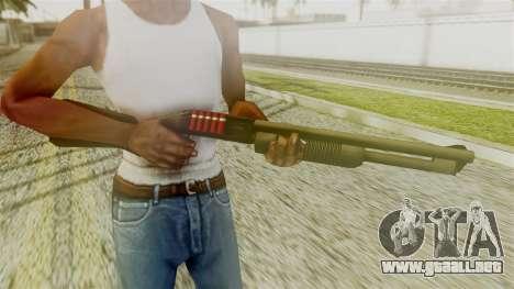 New Chromegun para GTA San Andreas tercera pantalla