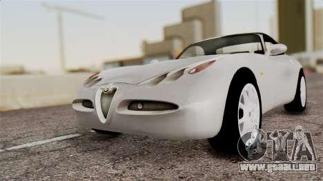 Alfa Romeo Nuvola para GTA San Andreas