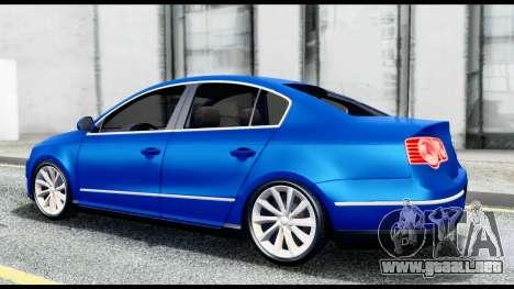 Volkswagen Passat B6 para la visión correcta GTA San Andreas