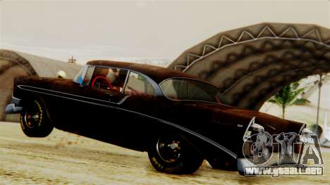 Chevrolet Bel Air 1956 Rat Rod Street para GTA San Andreas interior