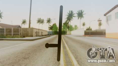 Police Baton from Silent Hill Downpour v1 para GTA San Andreas